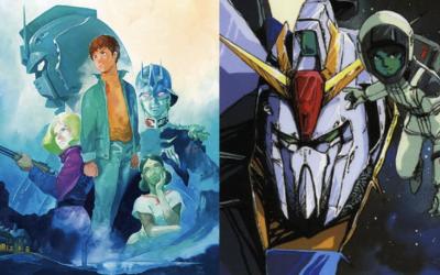 Two Gundam TV Anime Works